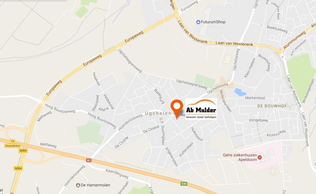 Locatie Ab Mulder Ugchelen